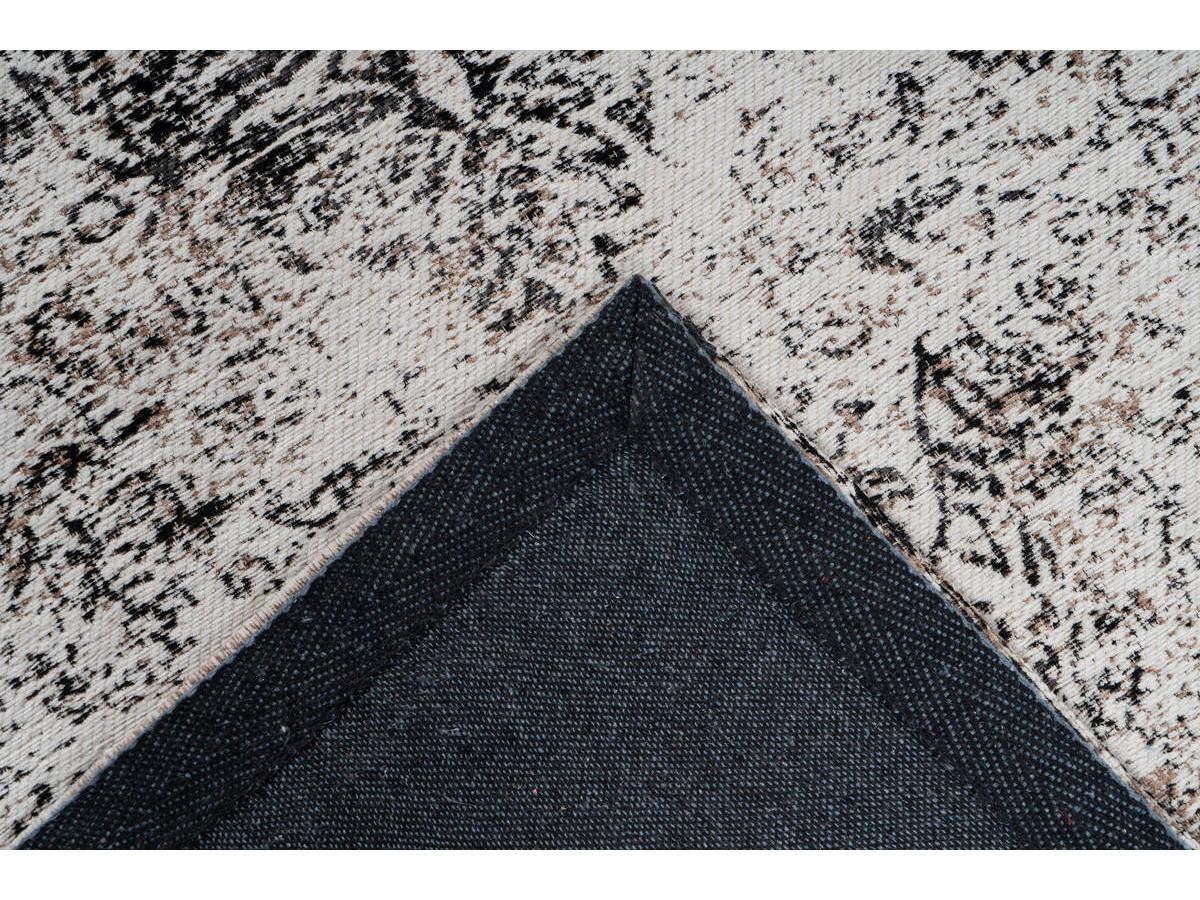Tapis VINTO Anthracite / Crème 200cm x 290cm 5