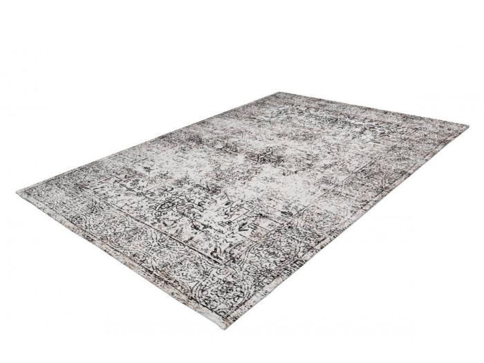 Tapis VINTO Anthracite / Crème 80cm x 150cm