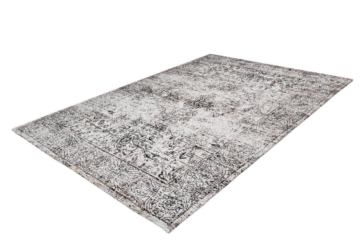 Tapis VINTO Anthracite / Crème 80cm x 150cm2