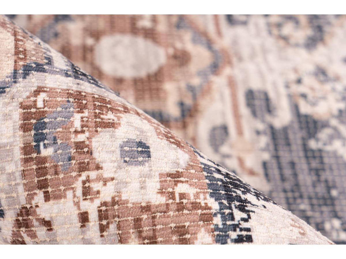 Tapis APACHE Gris / Marron 120cm x 170cm4