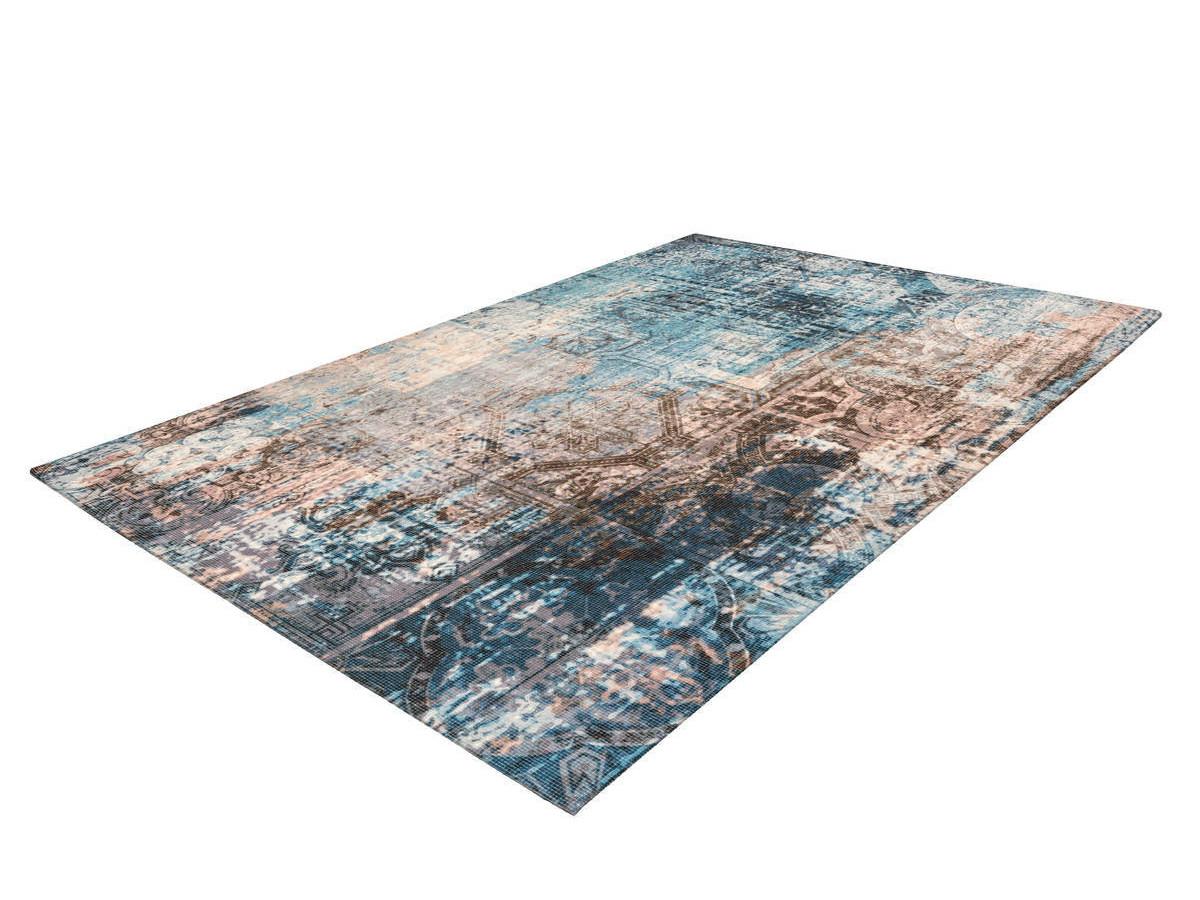 Tapis APACHE Bleu / Marron 160cm x 230cm