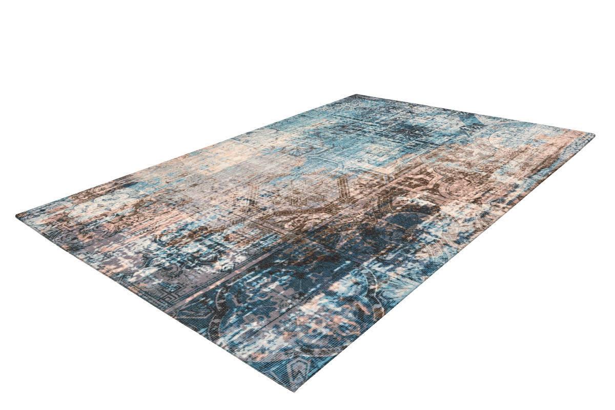 Tapis APACHE Bleu / Marron 240cm x 330cm2
