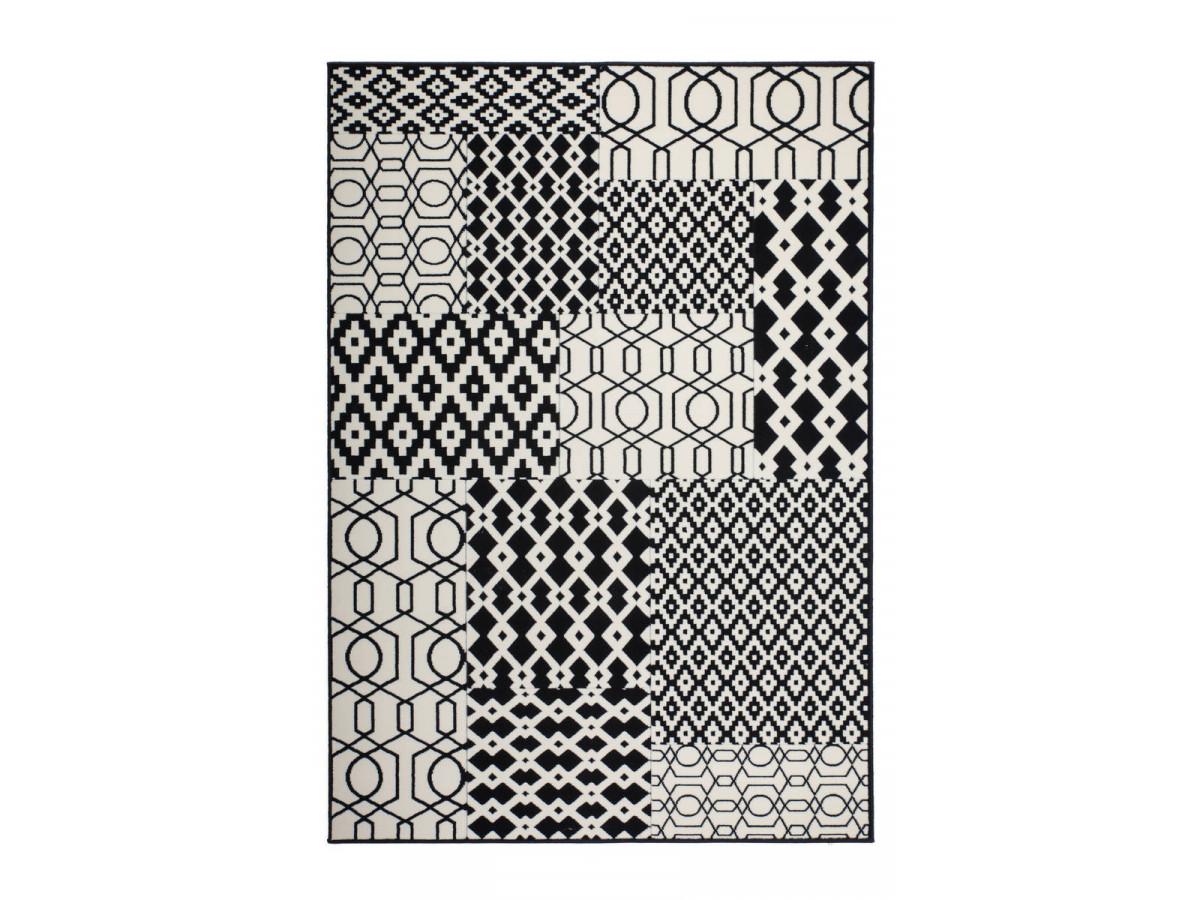 Tapis IRMA Multicolor / Noir 200cm x 290cm3