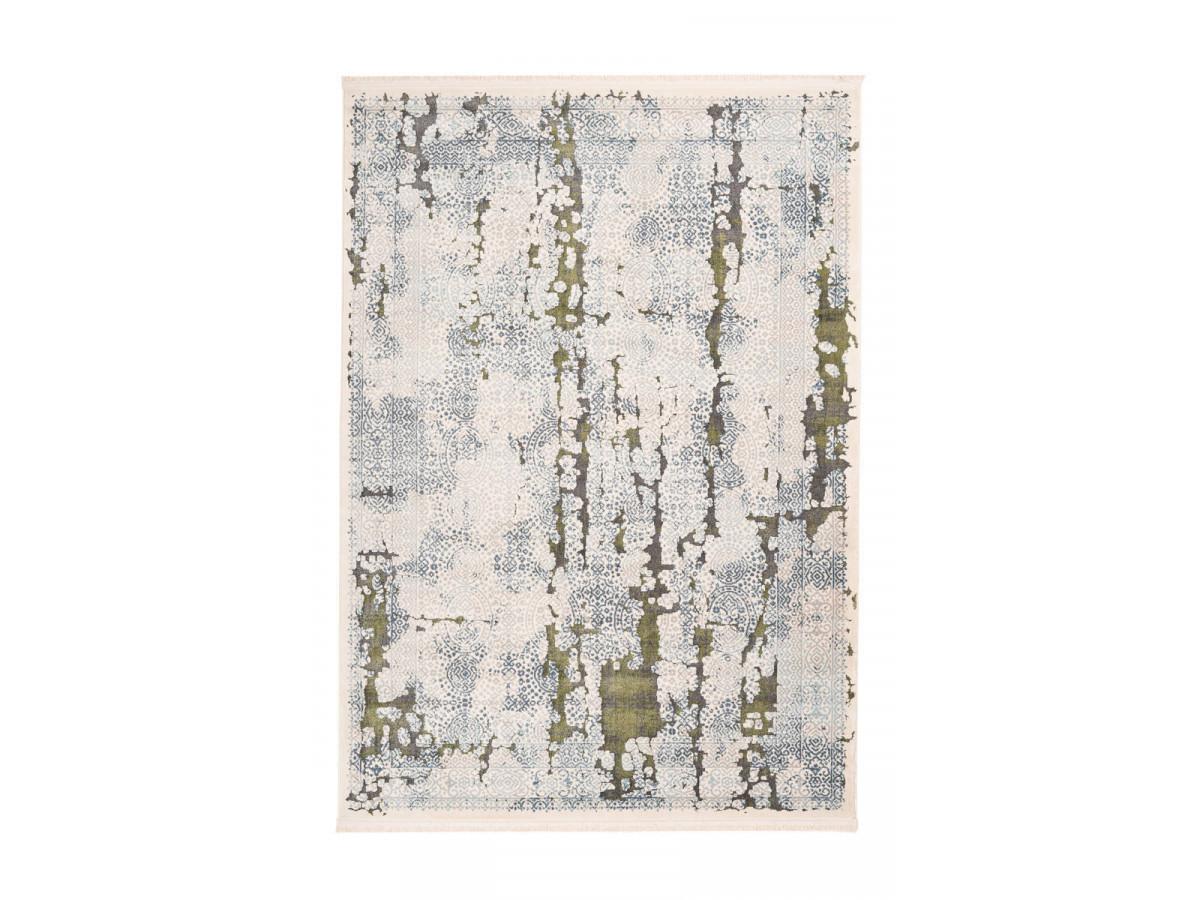Tapis TENZO Gris /Vert 200cm x 290cm3