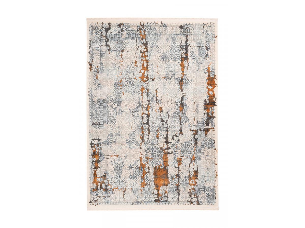 Tapis TENZO Gris / Orange 160cm x 230cm3