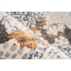 Tapis TENZO Gris / Orange 80cm x 150cm4