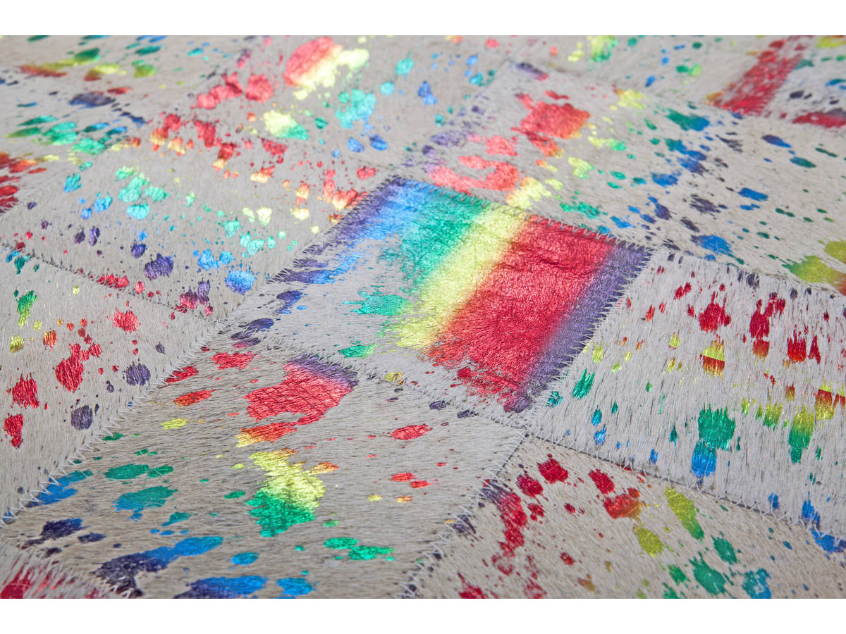 Tapis KIMI Ivoire / Multicolor 160cm x 230cm4