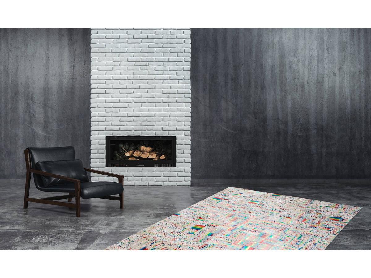 Tapis KIMI Ivoire / Multicolor 200cm x 290cm1
