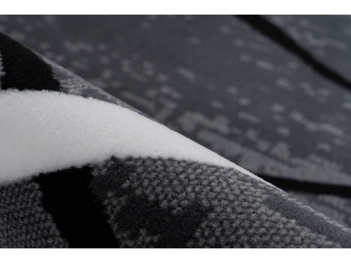 Tapis KRISTA Anthracite / Noir / Blanc 200cm x 290cm4
