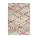 Tapis KRISTA Crème / Marron / Rosé 80cm x 150cm3