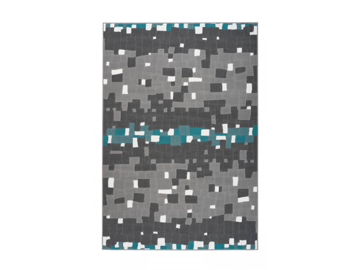 Tapis KRISTA Multicolor / Turquoise 120cm x 170cm3