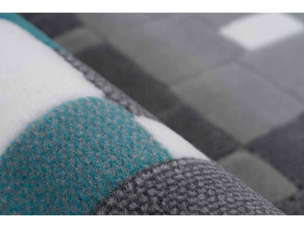 Tapis KRISTA Multicolor / Turquoise 200cm x 290cm4