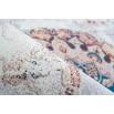 Tapis IDELIA Multicolor / Marron 120cm x 180cmx4