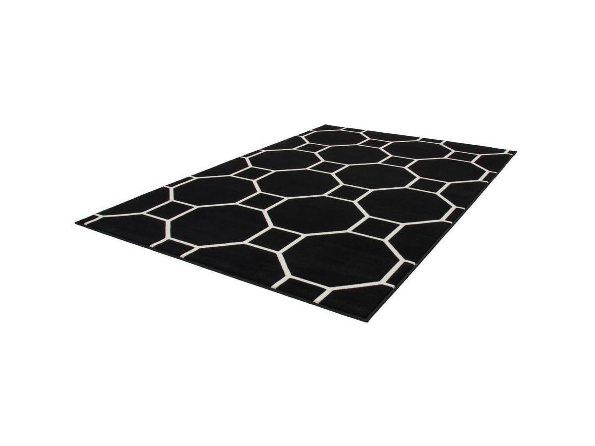 Tapis IRMA Noir / Ivoire 200cm x 290cmx