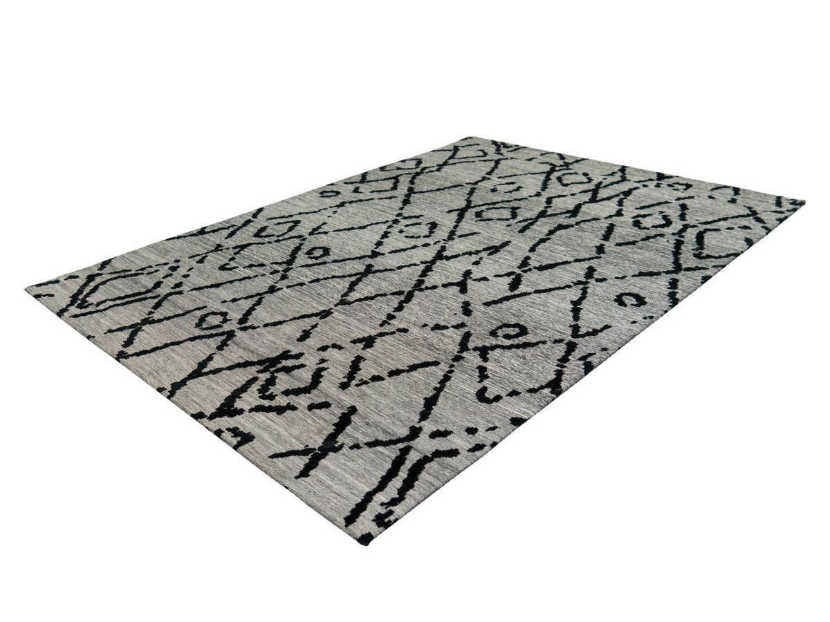 Tapis KADIX Gris / Noir 155cm x 230cmx