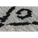 Tapis KADIX Gris / Noir 80cm x 150cmx4