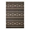 Tapis CUZCO Noir / Blanc 80cm x 150cmx3