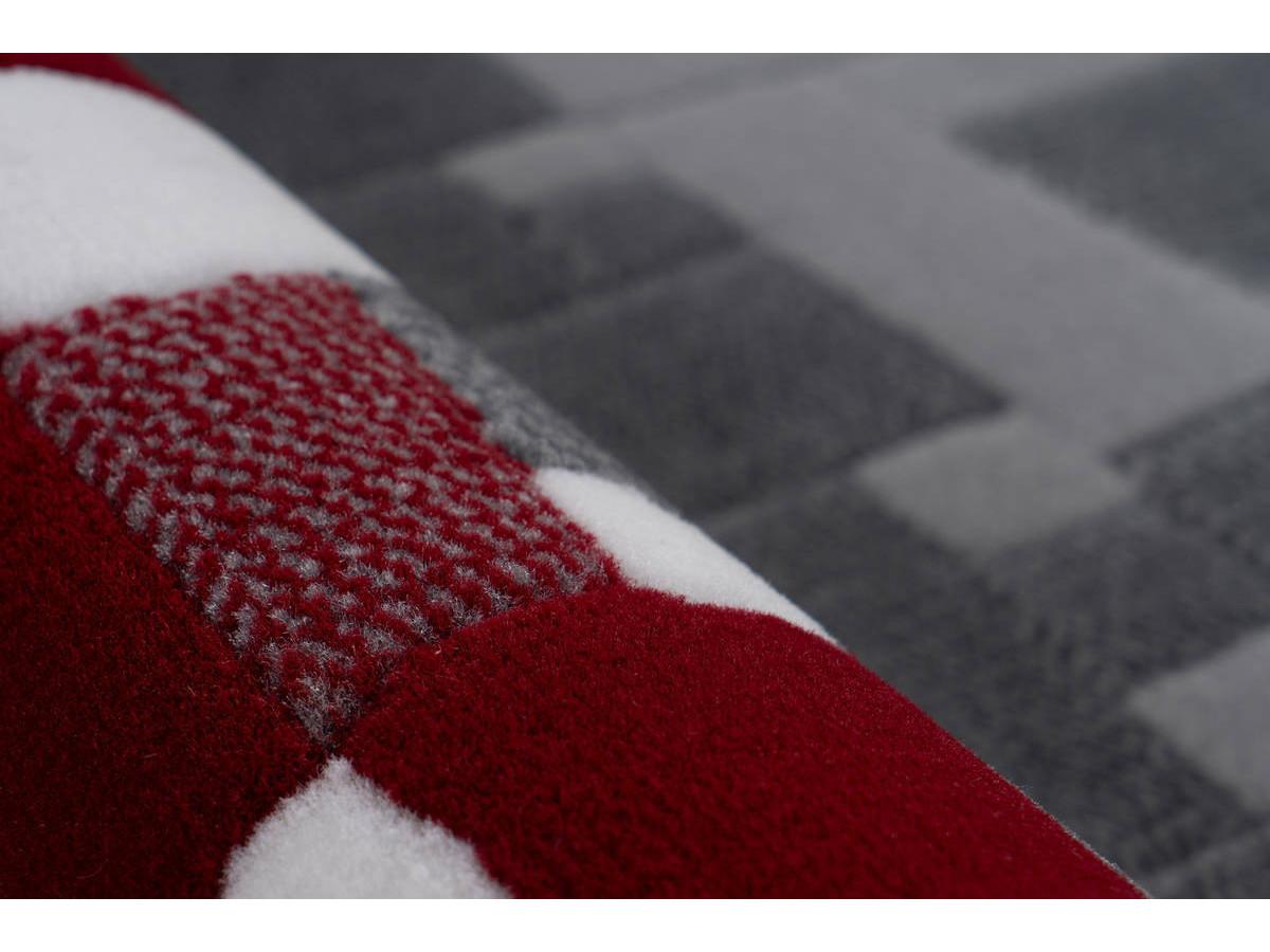 Tapis KRISTA Multicolor / Rouge 120cm x 170cmx4