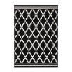 Tapis IRMA Noir / Ivoire 80cm x 300cm