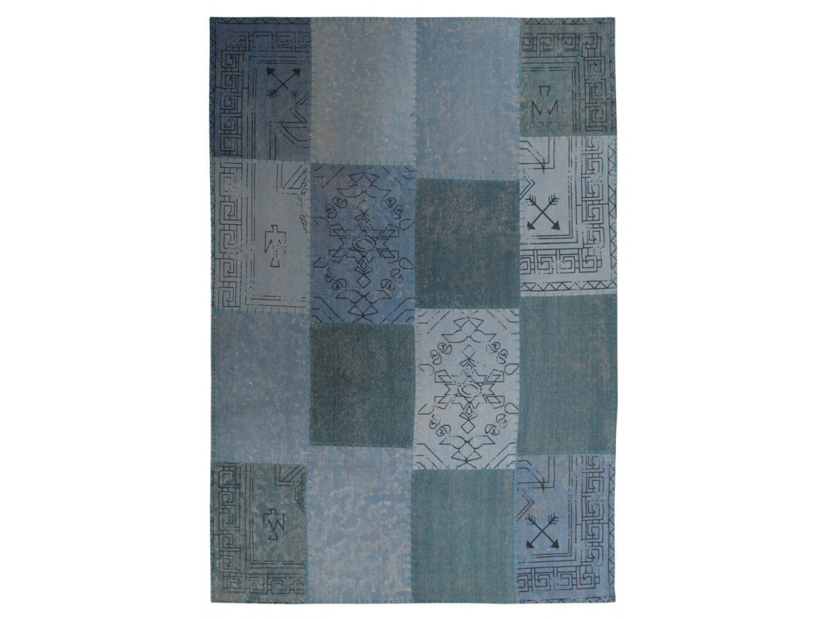 Tapis MISSO Multicolor / Bleu 200cm x 290cm