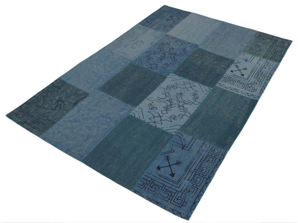 Tapis MISSO Multicolor / Bleu 160cm x 230cm