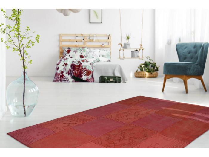 Tapis MISSO Multicolore/ Rouge 120cm x 170cm