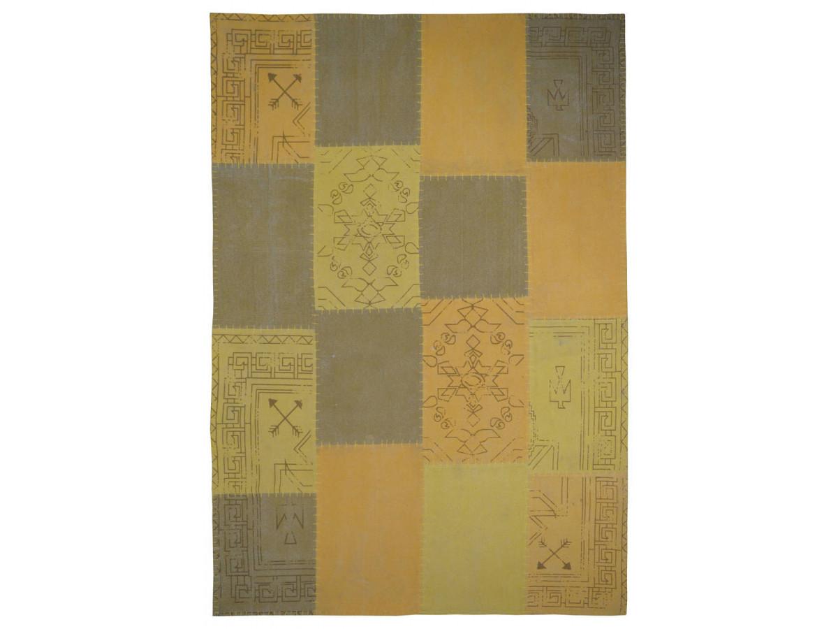 Tapis MISSO Multicolor / Jaune 120cm x 170cm