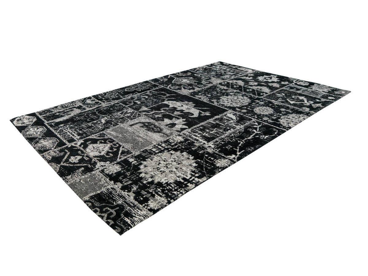 Tapis KADIX Gris / Noir 120cm x 170cm