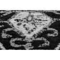 Tapis KADIX Gris / Noir 80cm x 150cm