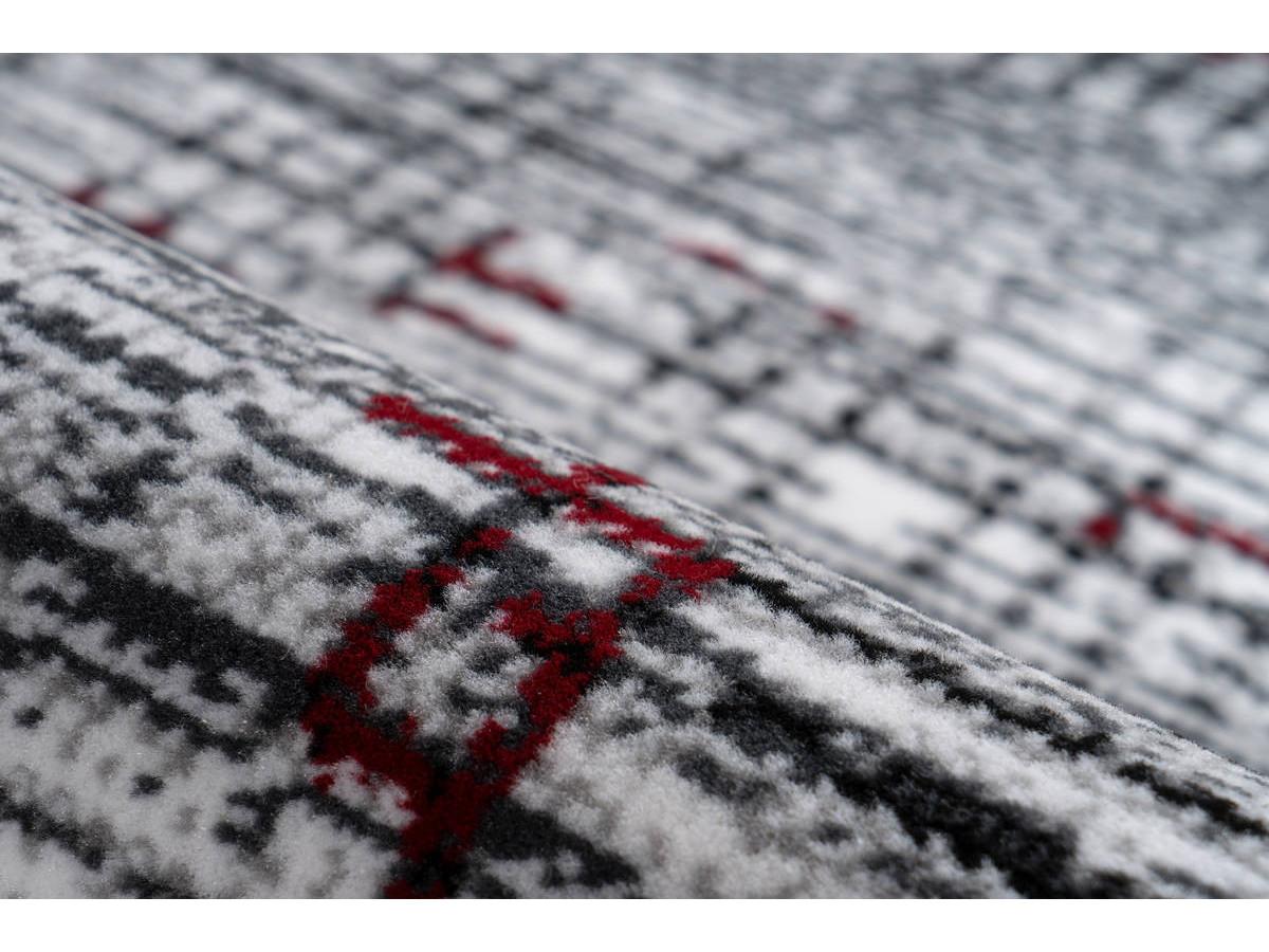 Tapis KRISTA Multicolor / Rouge 80cm x 150cm