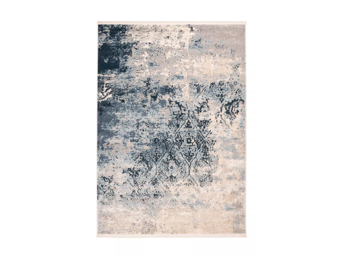 Tapis TENZO Multicolor / Bleu 80cm x 150cm