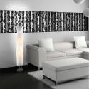 Lampadaire design en PVC Zoom Blanc