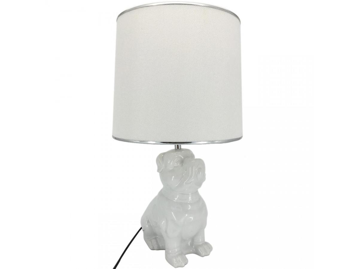 Lampe en céramique Boone Blanc