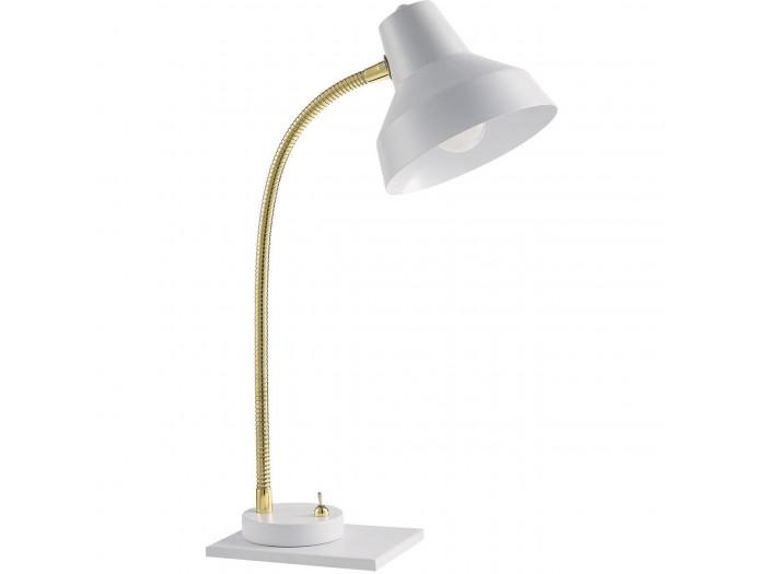Lampe en métal Sway Blanc