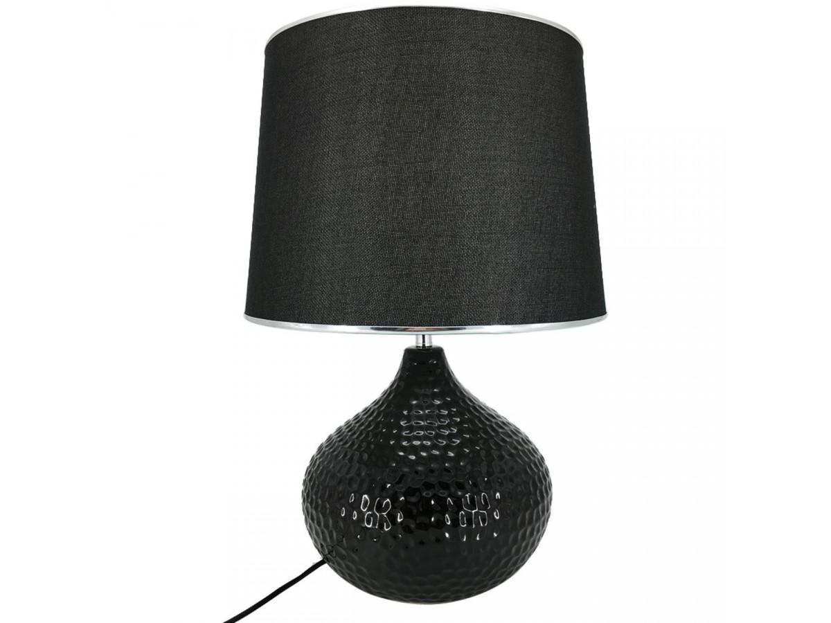 Lampe Sphere céramique Orion Noir