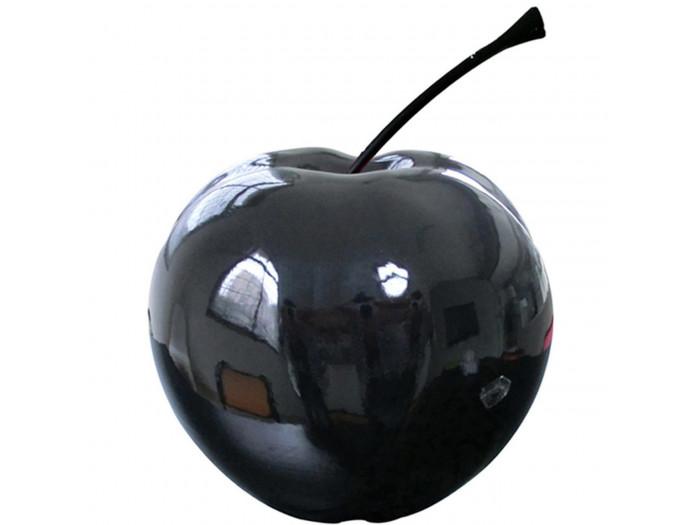 Pomme en résine FINLAY Noir