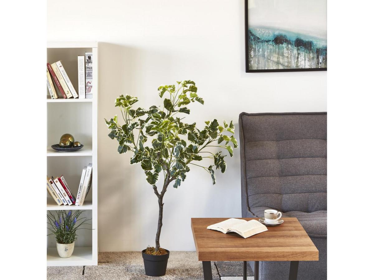 Plante artificielle OLLA 210 feuilles et pot noir