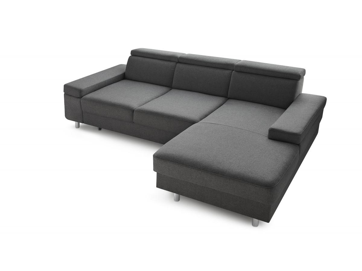 Canapé d'angle convertible coffre ESPACE