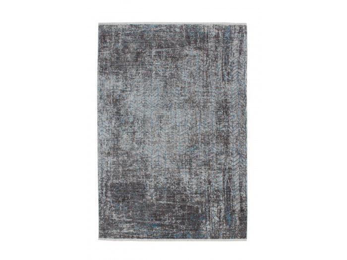 Tapis FONZY Gris / Bleu 80cm x 150cm