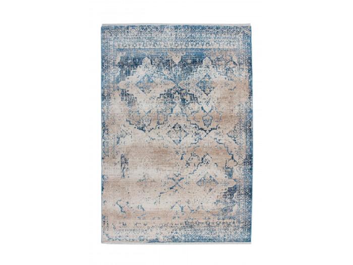 Tapis FONZY Crème / Bleu 120cm x 180cm