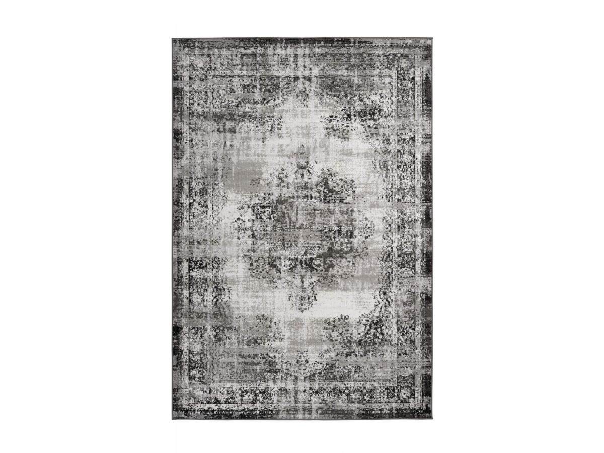 Tapis MERTHA Gris clair / Gris foncé 80cm x 150cm