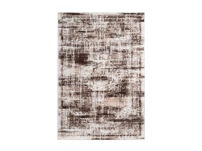 Tapis MERTHA Crème / Marron 80cm x 150cm