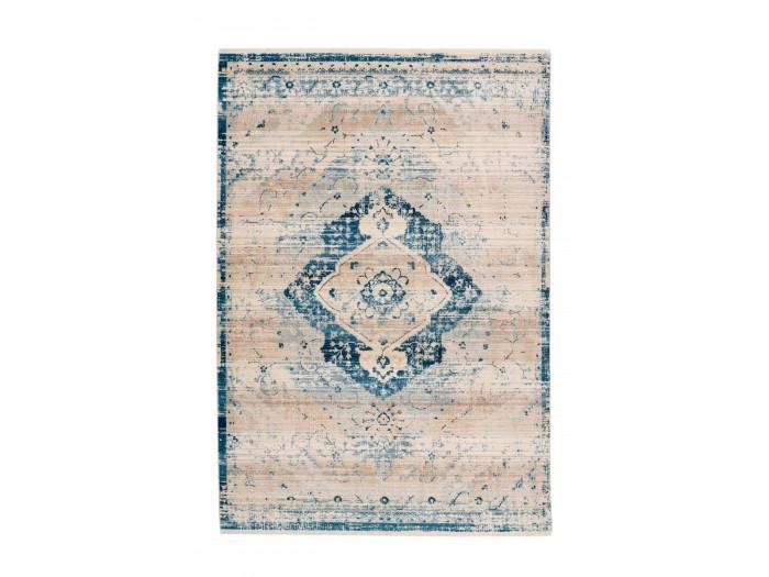 Tapis FAKIR Crème / Bleu 120cm x 180cm