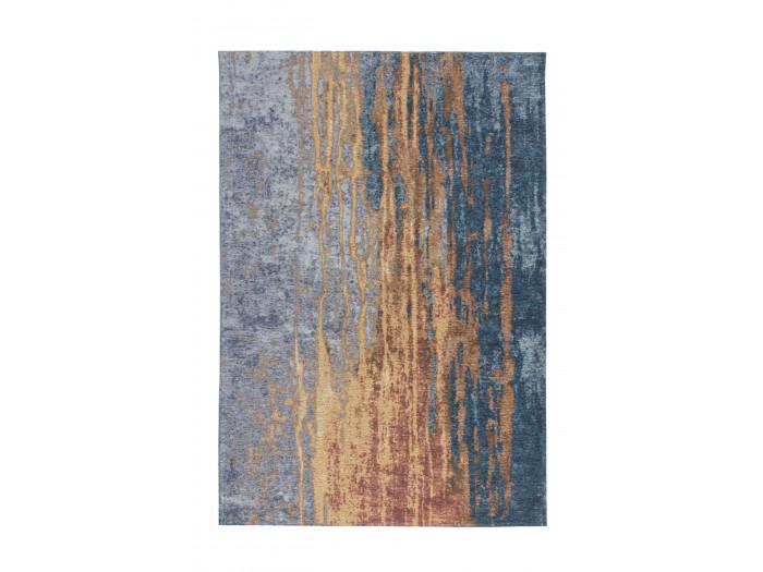 Tapis SALOMA Beige / Bleu 115cm x 170cm