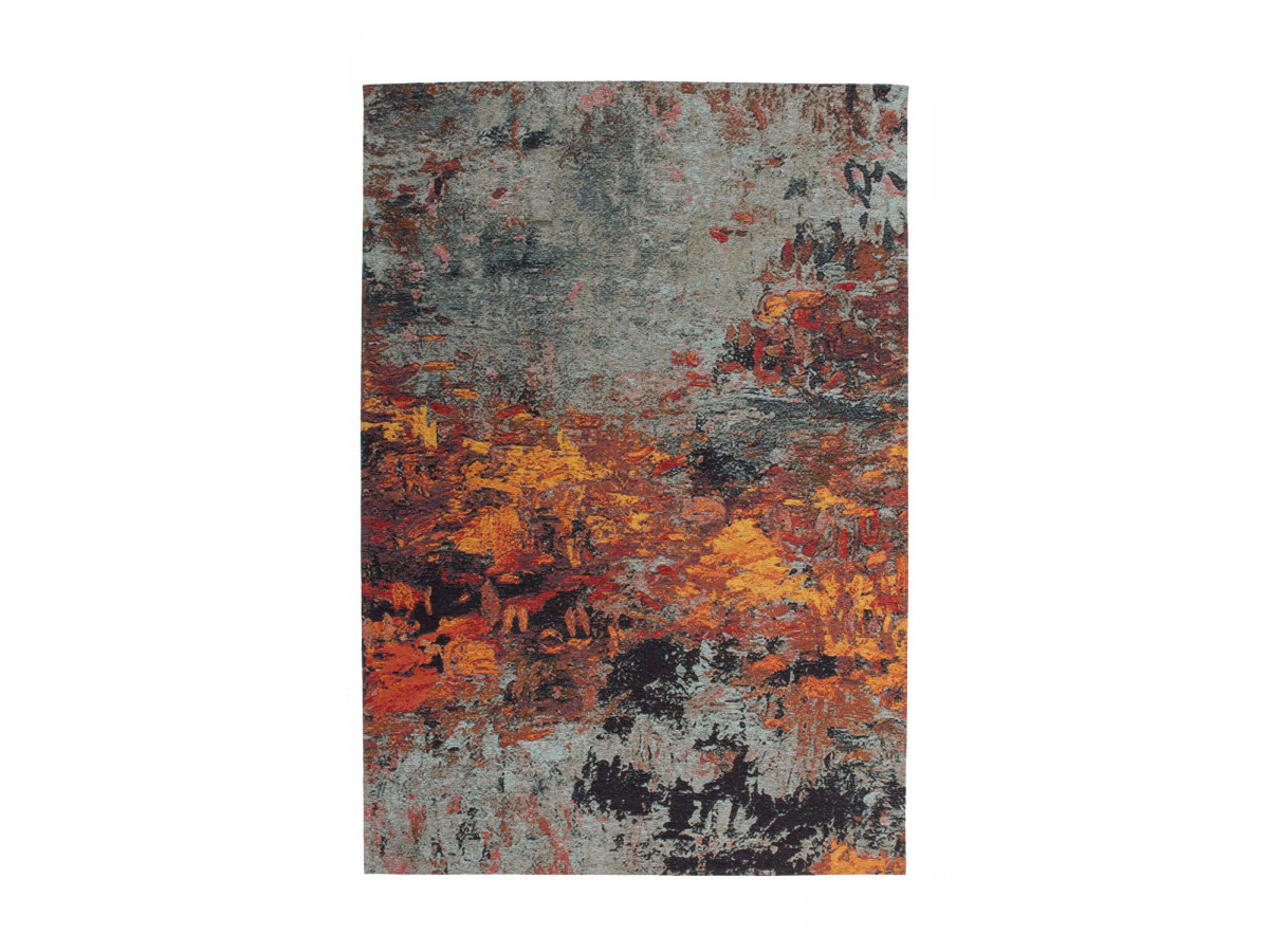 Tapis SALOMA Multicolor/ Gris/ Jaune 195cm x 290cm