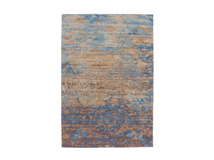 Tapis SALOMA Bleu / Beige 75cm x 150cm