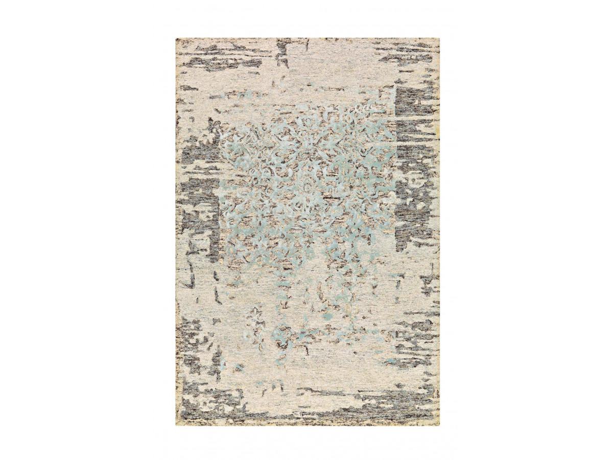 Tapis SHABBY Gris / Vert 80cm x 150cm