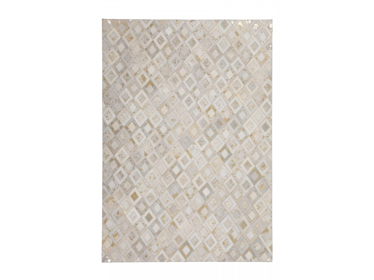 Tapis KHALED Ivoire / Or 160cm x 230cm