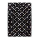 Tapis TELLIA Noir 80cm x 150cm