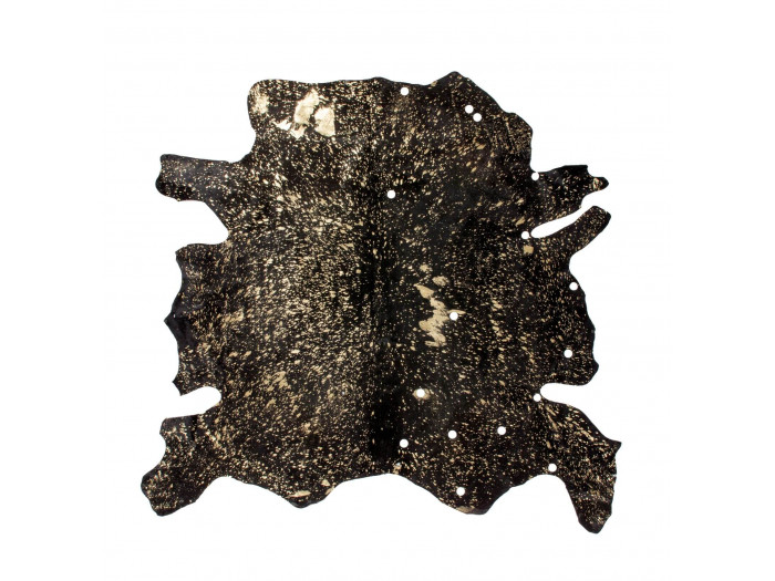 Tapis HUNTER Noir / Or ? 1,35m2 - 1,65m2